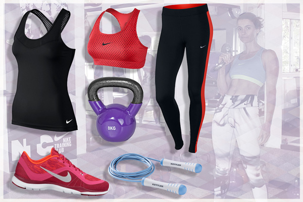5b81c52a45a Потник Nike PRO HYPERCOOL TANK – 79.90 лв. Спортен сутиен Nike VCTRY CMPRSN  SW – 59.90лв. Клин Nike DF ESSENTIAL TIGHT – 89.90 лв